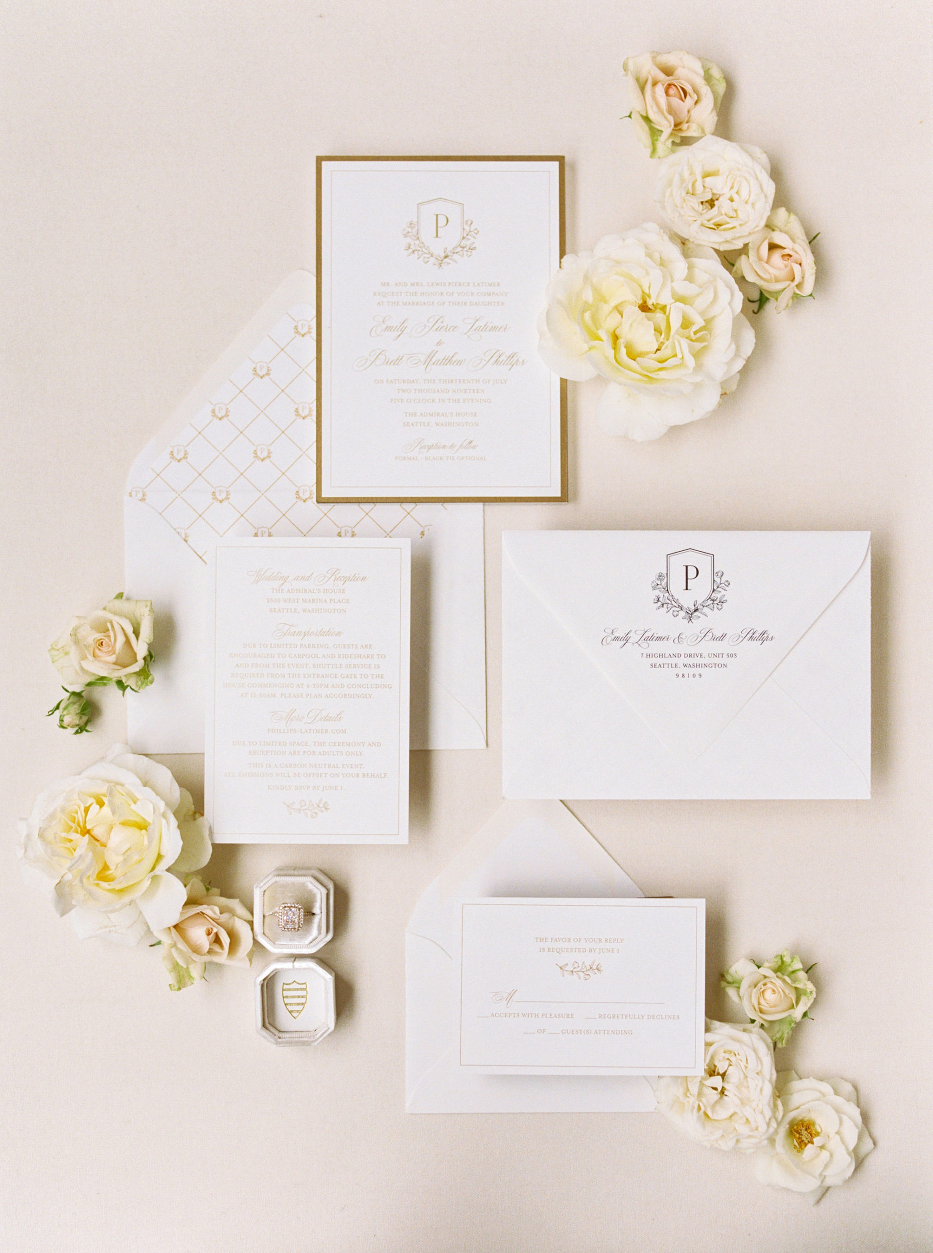 Timeless Elegance in this Seattle Wedding at The Admiral's House