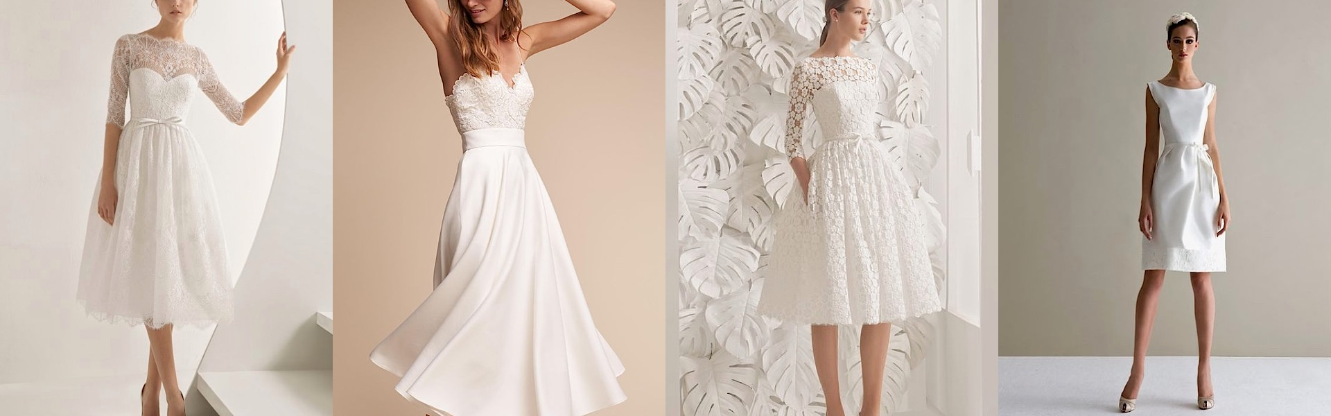 Modern Chic Short Wedding Dresses That Are Stealing The Show