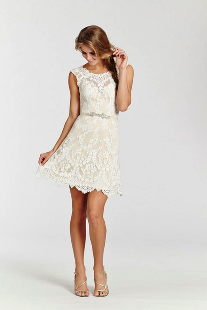 Short Dress Wedding Dress
