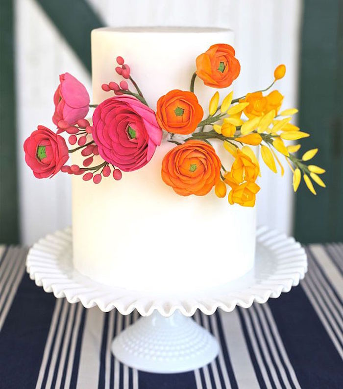 Simple Wedding Cakes: Simple Wedding Cakes Made To Inspire