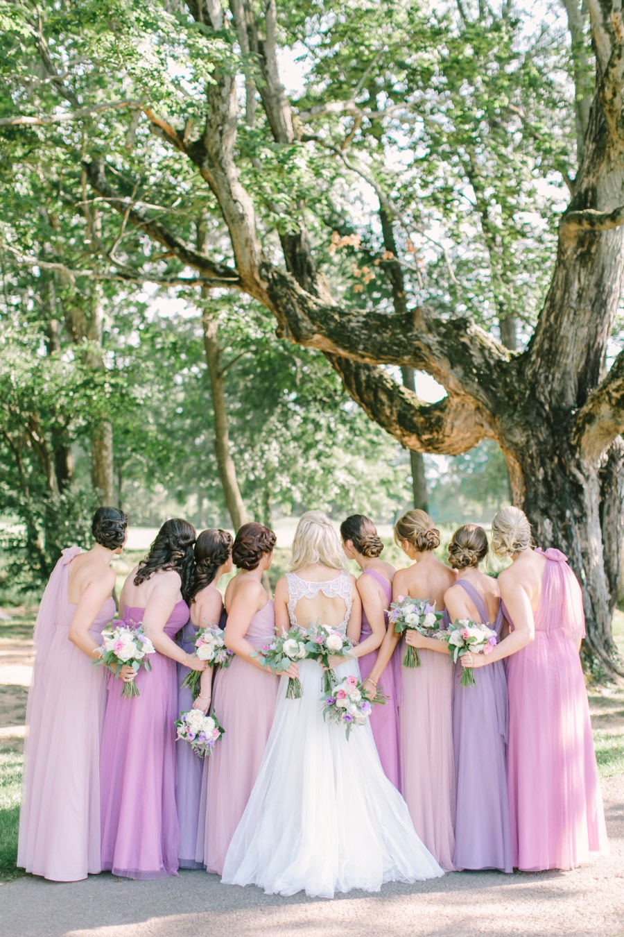 Breathtaking Pink And Lavender Summer Wedding From Love