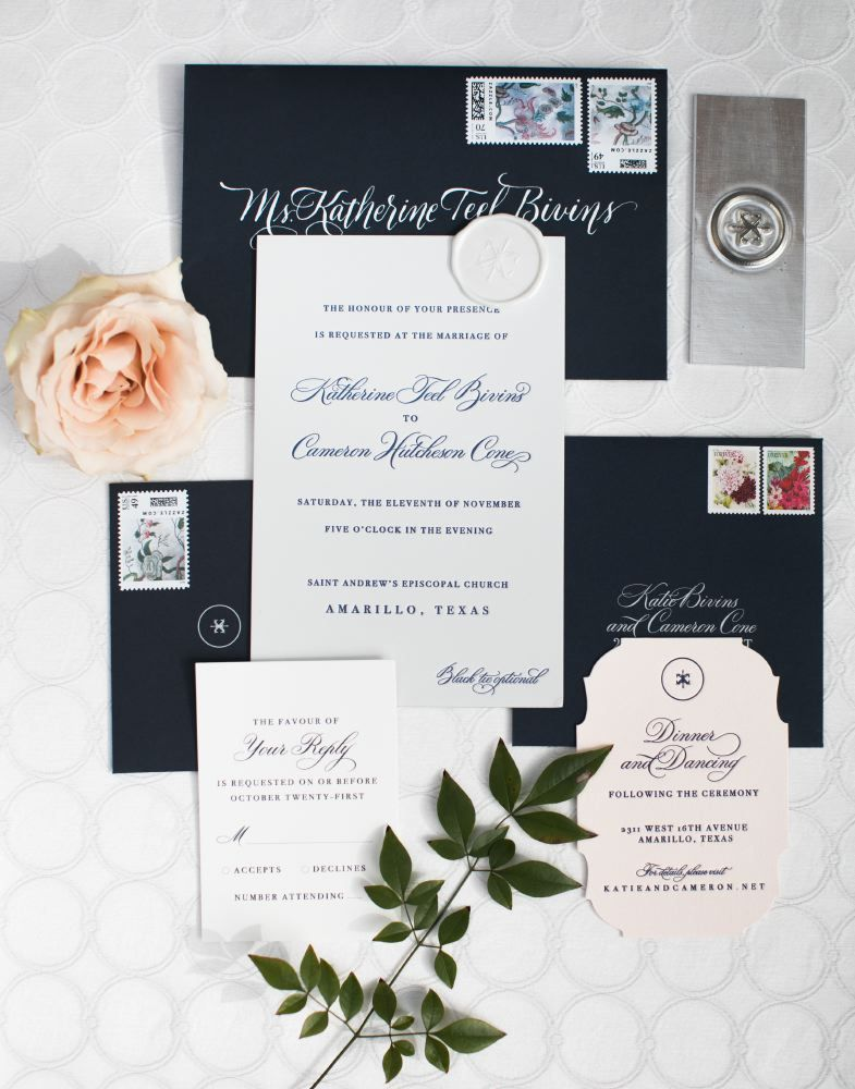 This Classic Texas Wedding Shines with Gray, White and Greenery