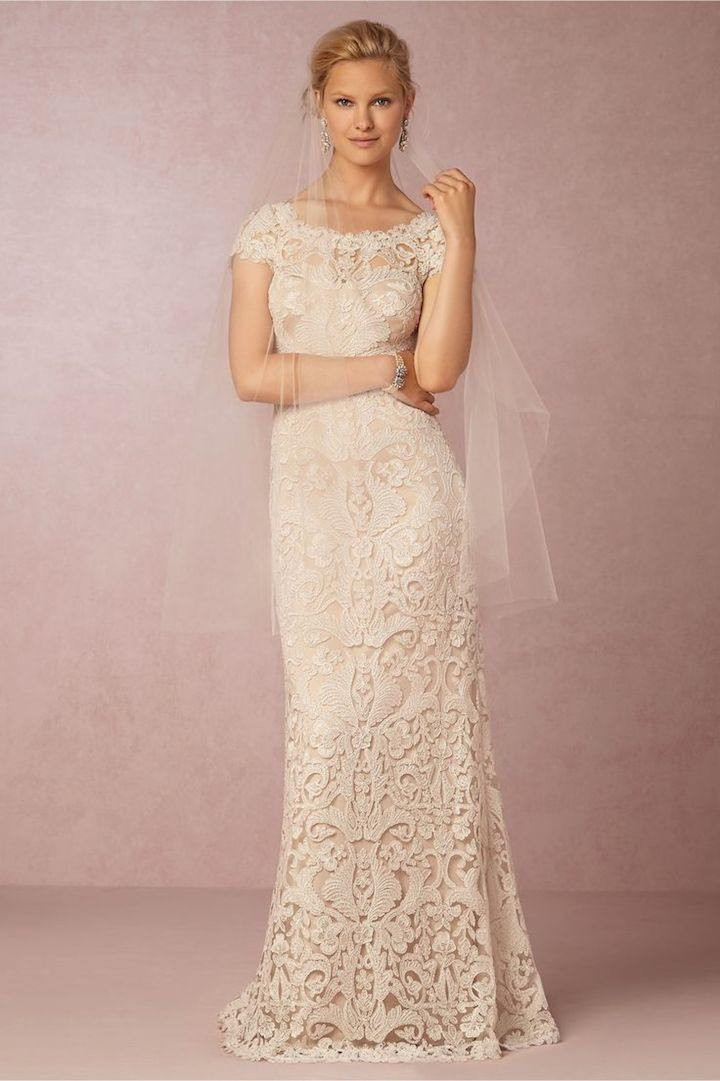 Vintage Lace Wedding Dress 18 082017ch