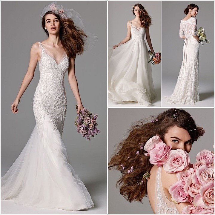 Simple Wedding Dresses For Fall: Watters Wedding Dresses Fall 2015 Collection