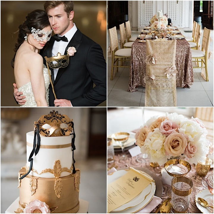 Chicago Wedding Planner Creates Masquerade Ball