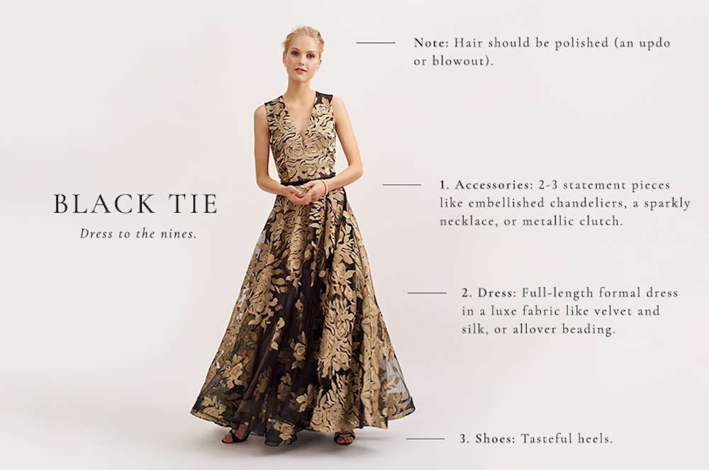 035f42924d The BHLDN Dress Decoder  Elegant Wedding Guest Attire by Dress Code ...