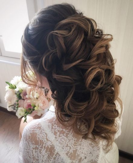 Mom Wedding Hairstyles: Tonya Pushkareva Wedding Hairstyle Inspiration