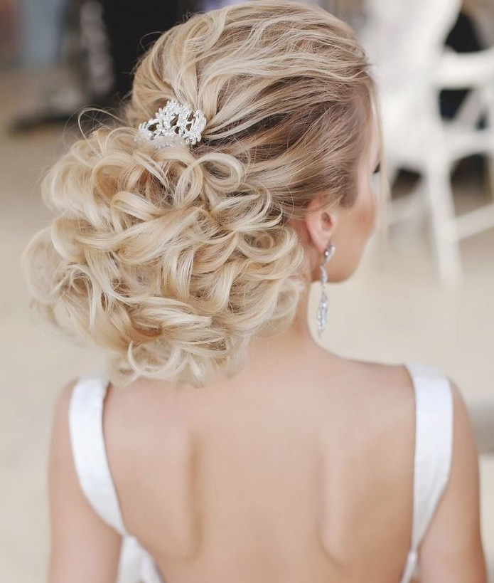 35 Beautiful Wedding Hairstyles For Long Hair: Wedding Hairstyles With Chic Updos