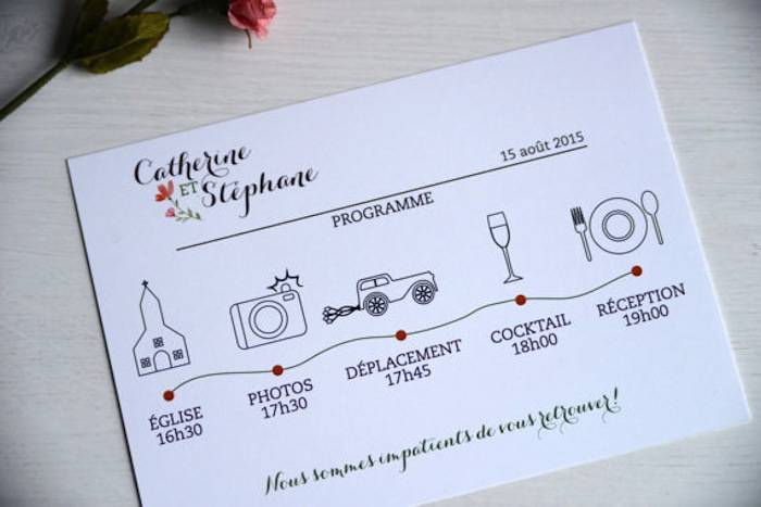 How To Plan A Wedding Reception Timeline