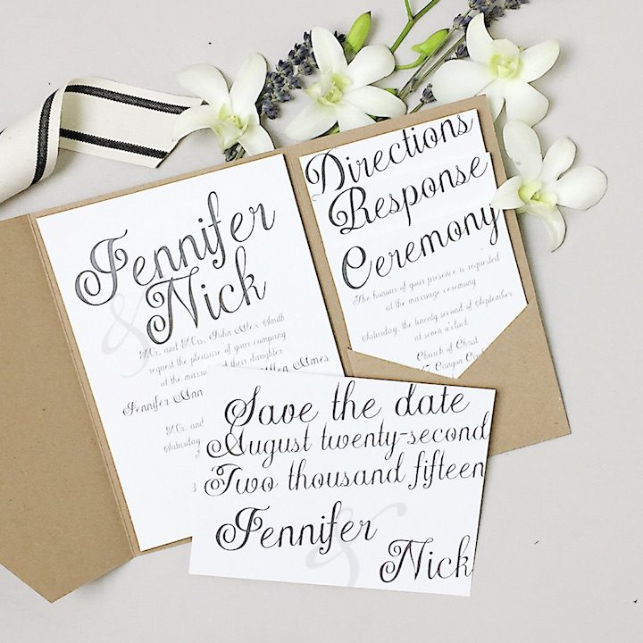 Wedding Invitation 6 112016mc