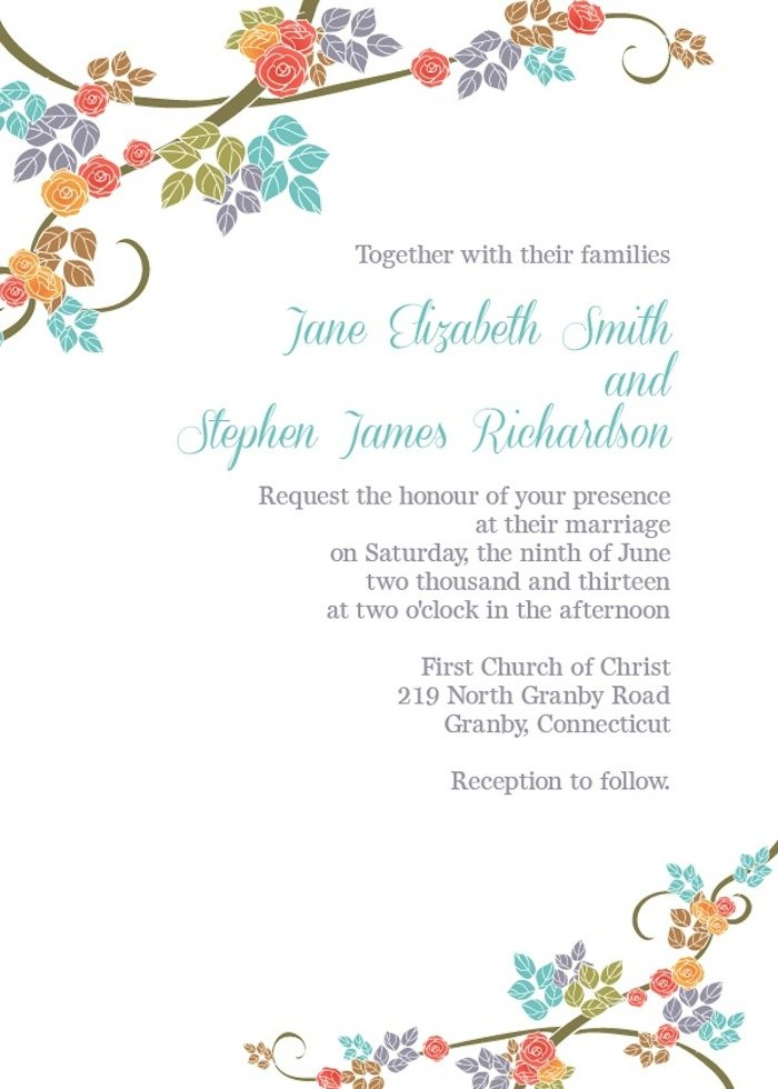 Wedding Invitation Templates 13 08202015 Ky