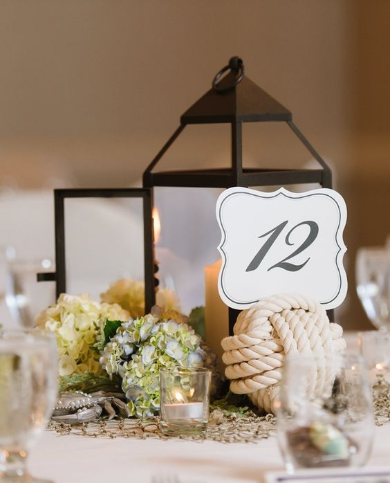Insurance For Wedding Reception: White Lantern Wedding Reception Centerpiece