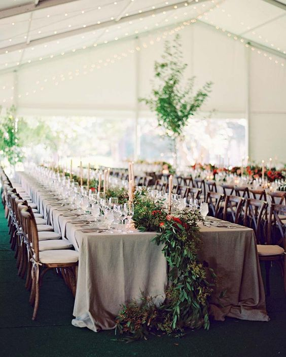 Insurance For Wedding Reception: Garden-Inspired Wedding Reception