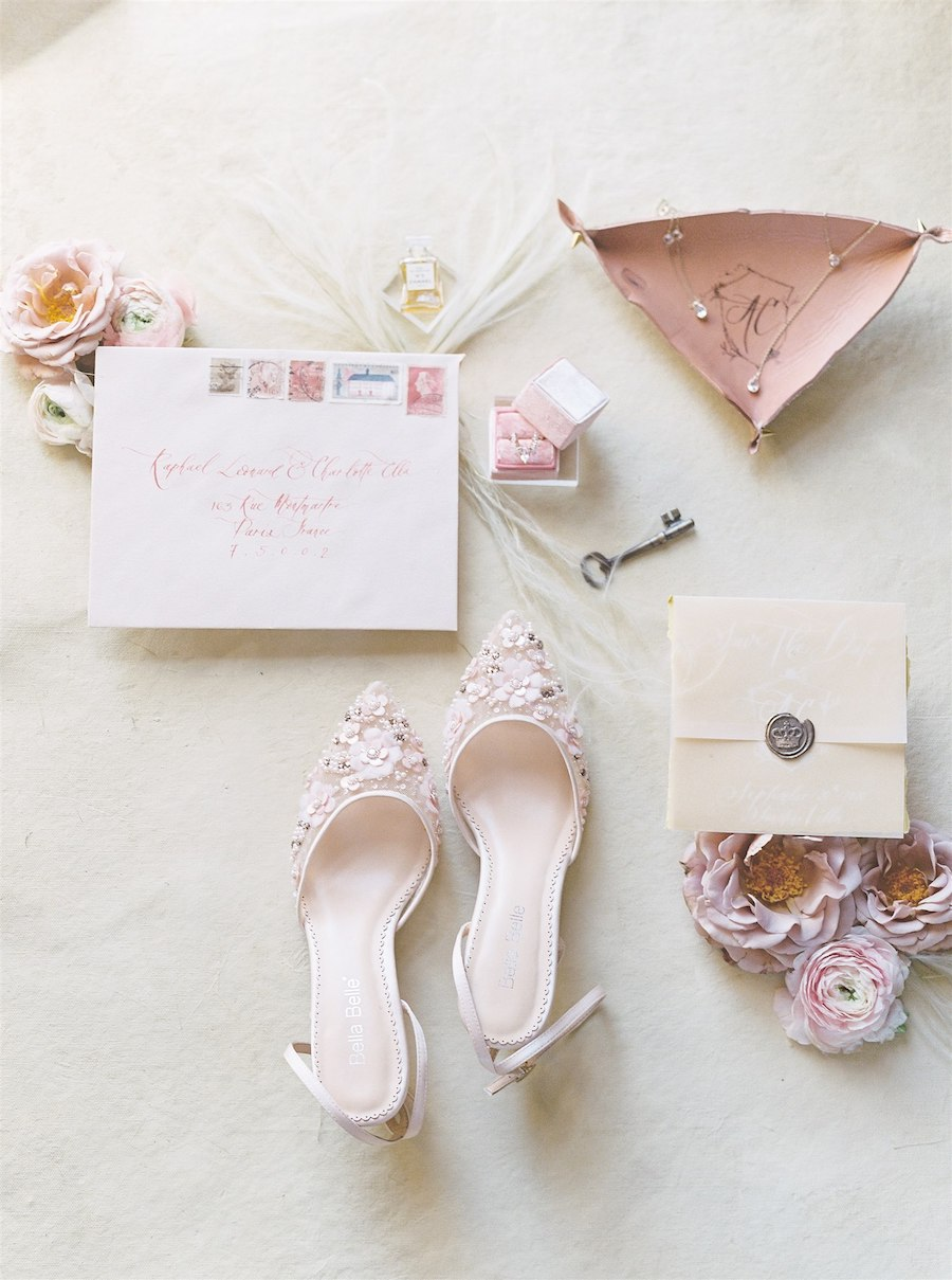 Romantic Blush Sunstone Winery Wedding Inspiration Shoot