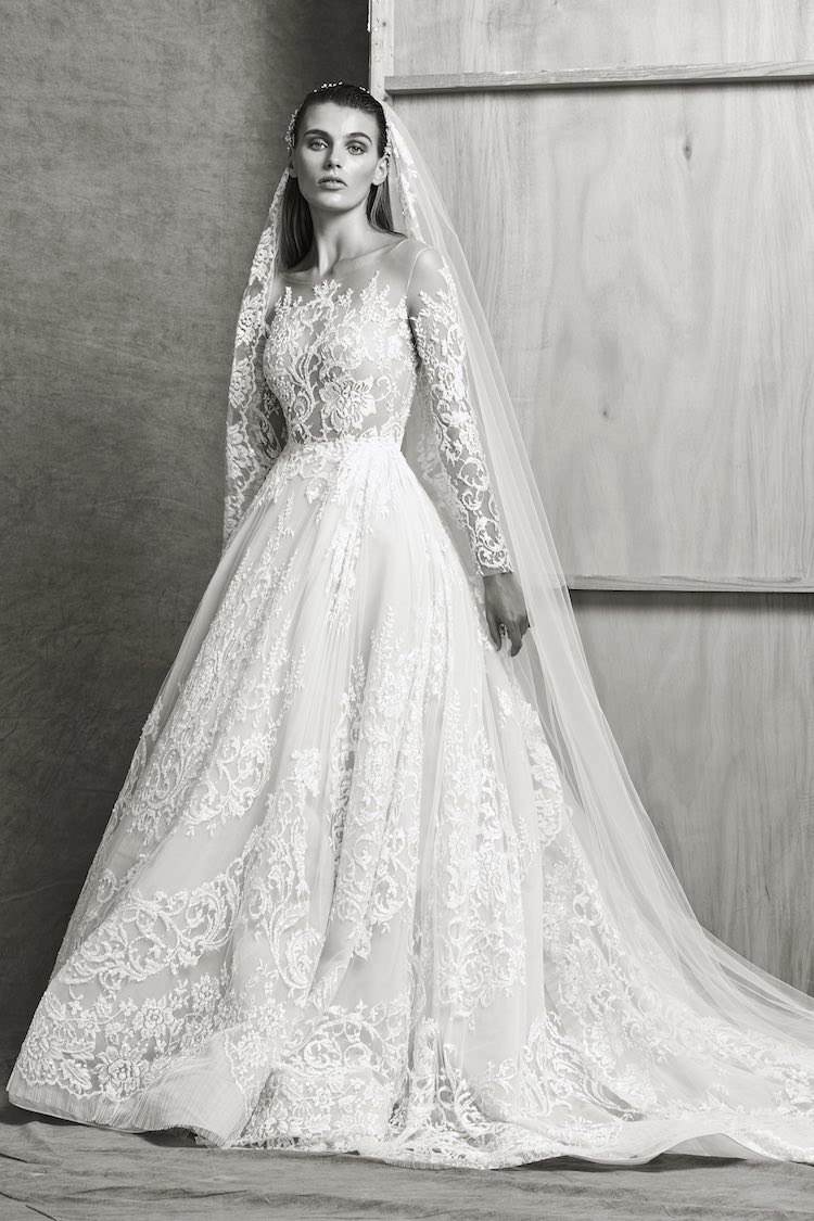 bed07b83c253 Timelessly Elegant Zuhair Murad Wedding Dresses Fall 2018